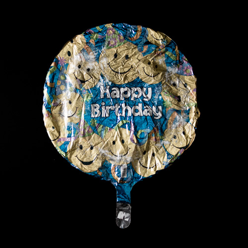 MYLARIS / Birthdayum / Emojis (Blue) 001
